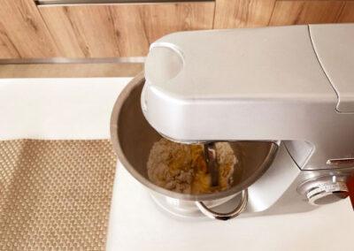 Fate inglobare bene i liquidi alla farina