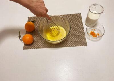 Mescolate bene per far inglobare tutti gli ingredienti