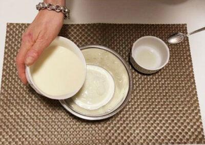 aggiungete il latte