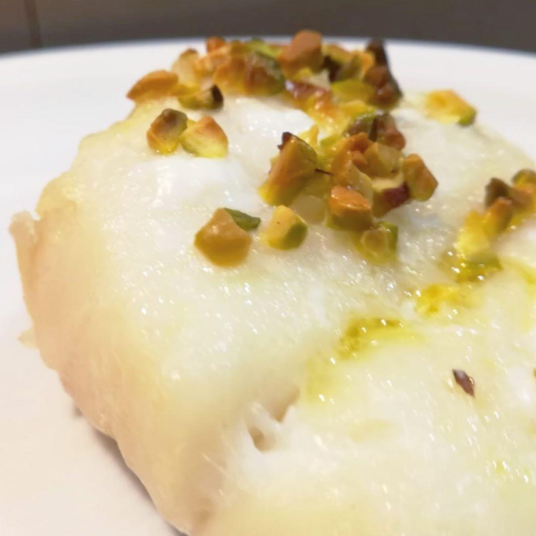 Tocchetti di baccalà con pistacchi