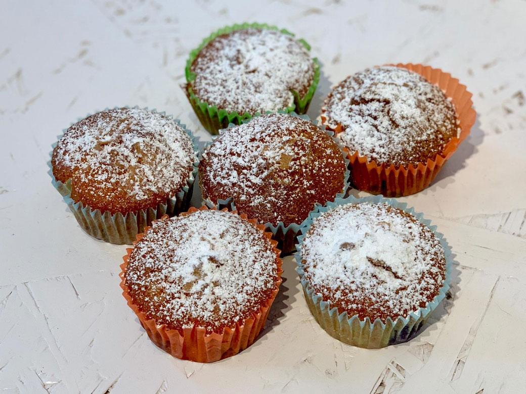 Muffin Sofficissimi ai Mirtilli della Monica