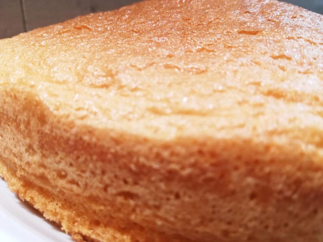 Pan di Spagna basso della Monica