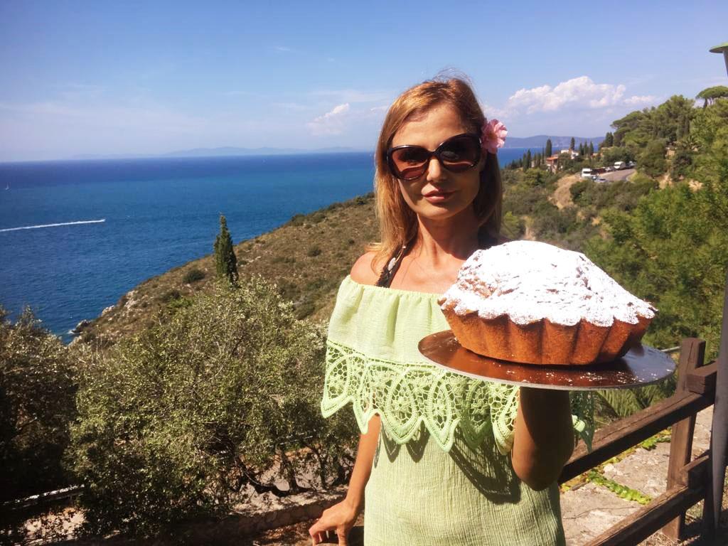 Torta mediterranea al profumo di menta