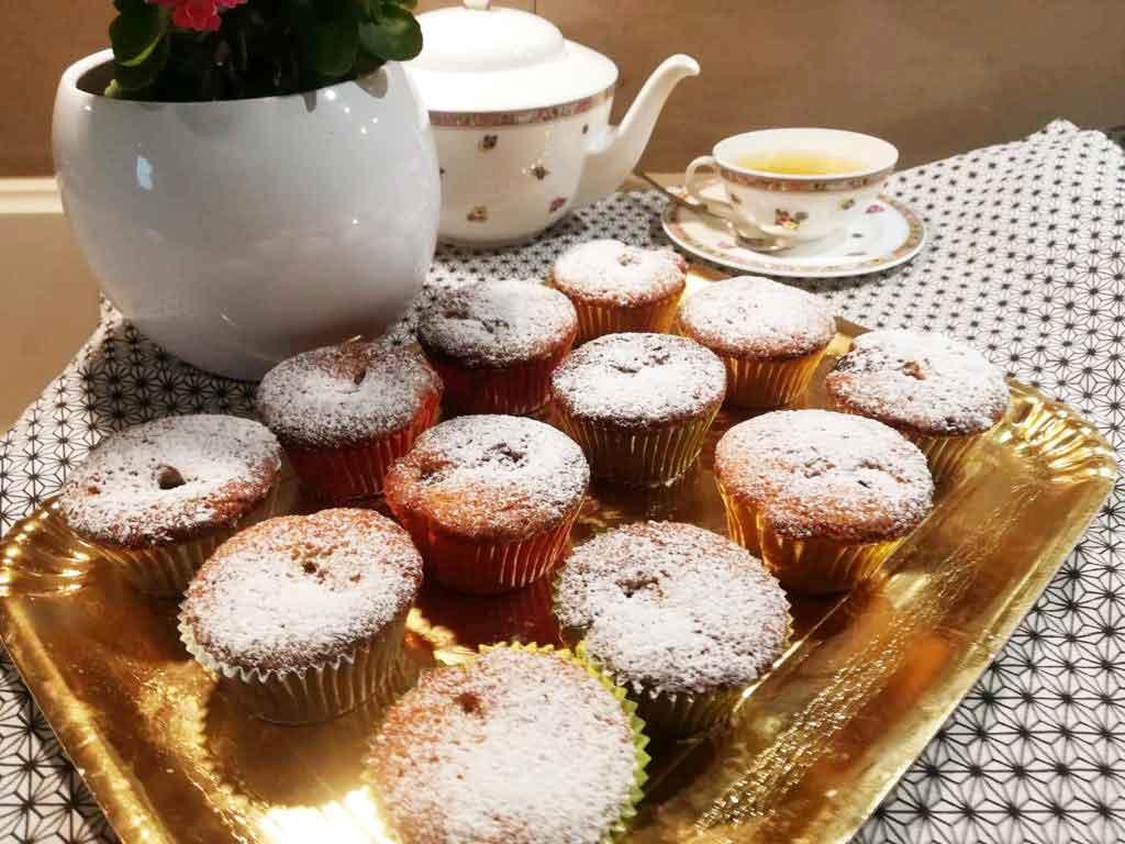 Muffin soffici alle amarene Fabbri della Monica