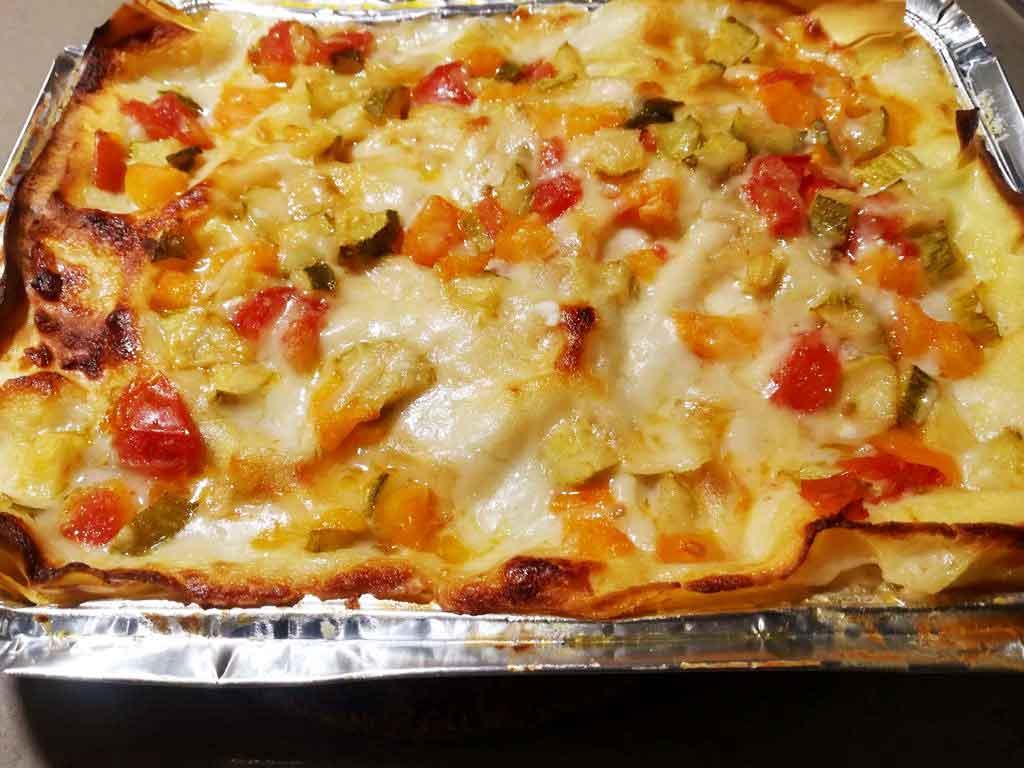 Lasagne alle verdure della Monica