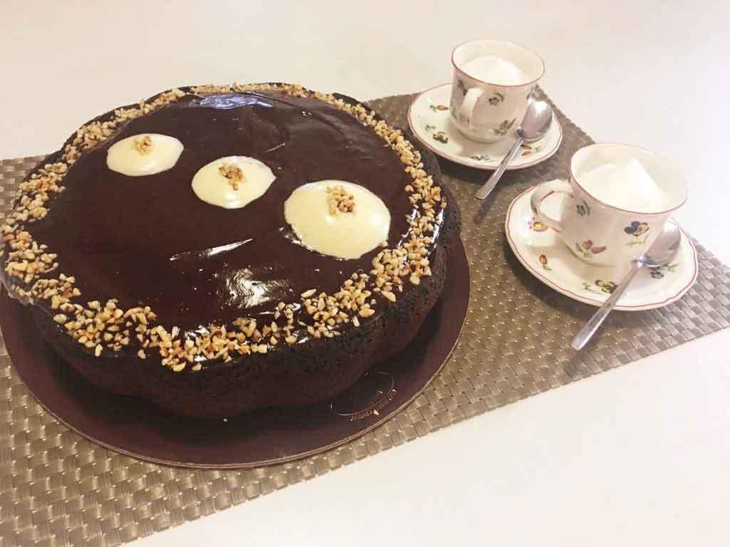 Mud Cake - Torta umida al cioccolato della Monica