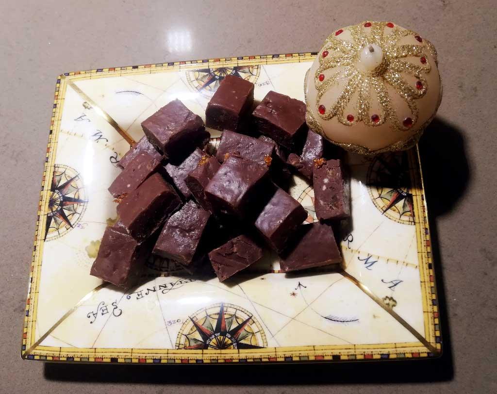 Fudge al cioccolato della Monica