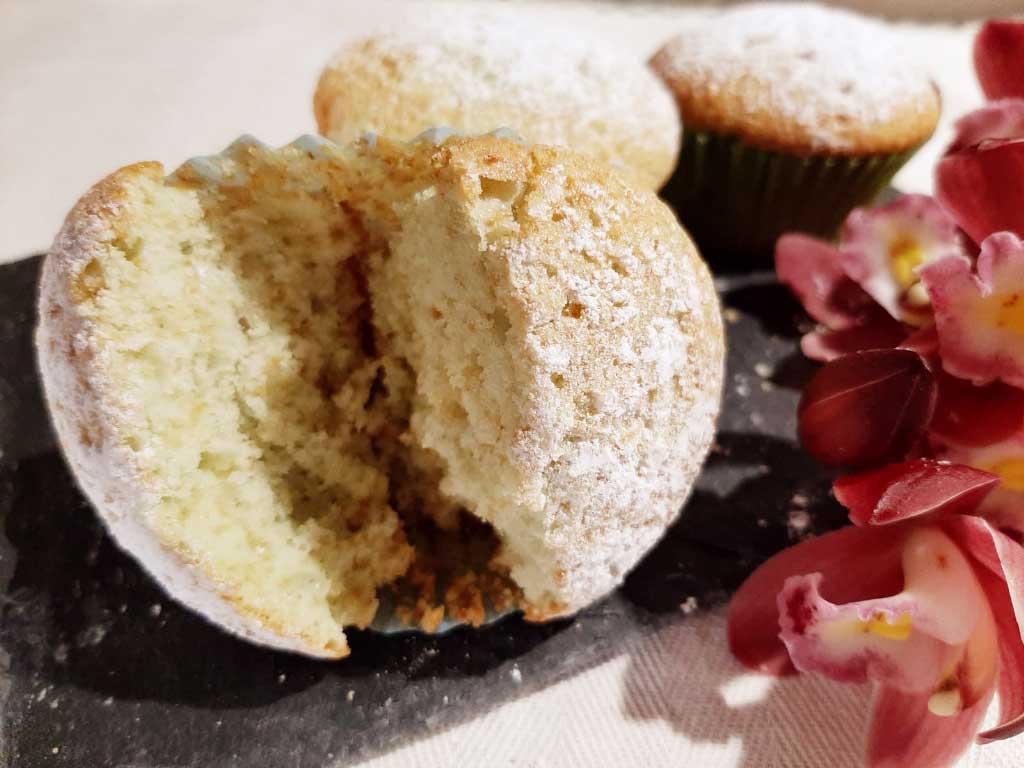 Muffin sofficissimi alla menta della Monica