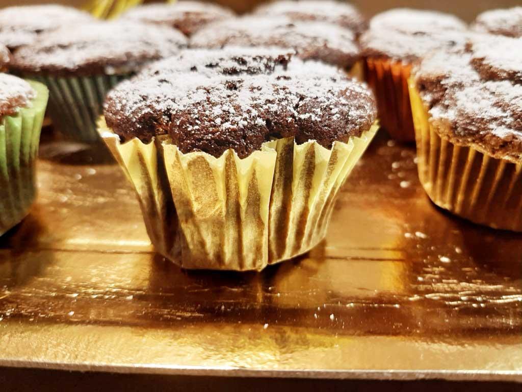 Muffin sofficissimi al cioccolato della Monica