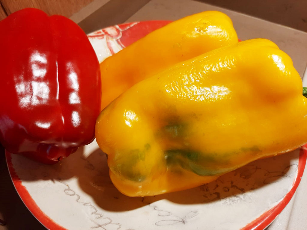 peperoni in padella della Monica