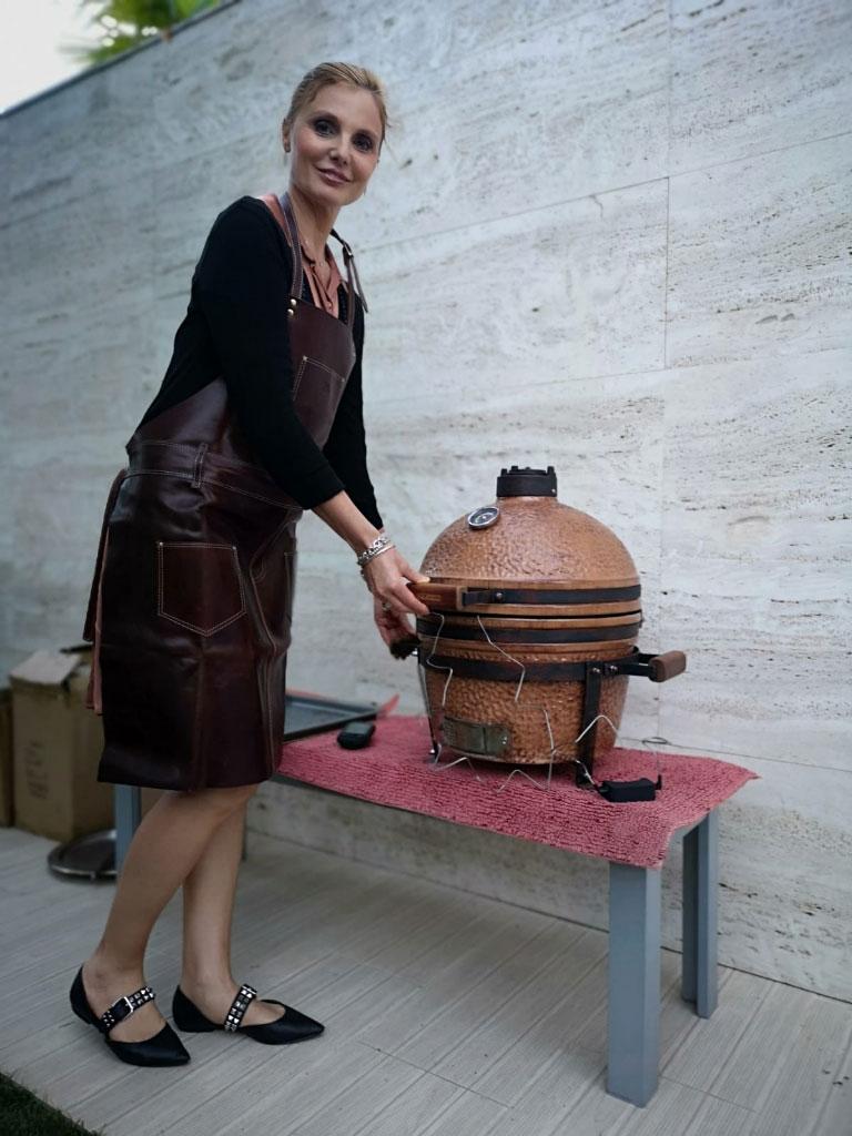 Kamado griglia e piastra chiuse di Classeitaly