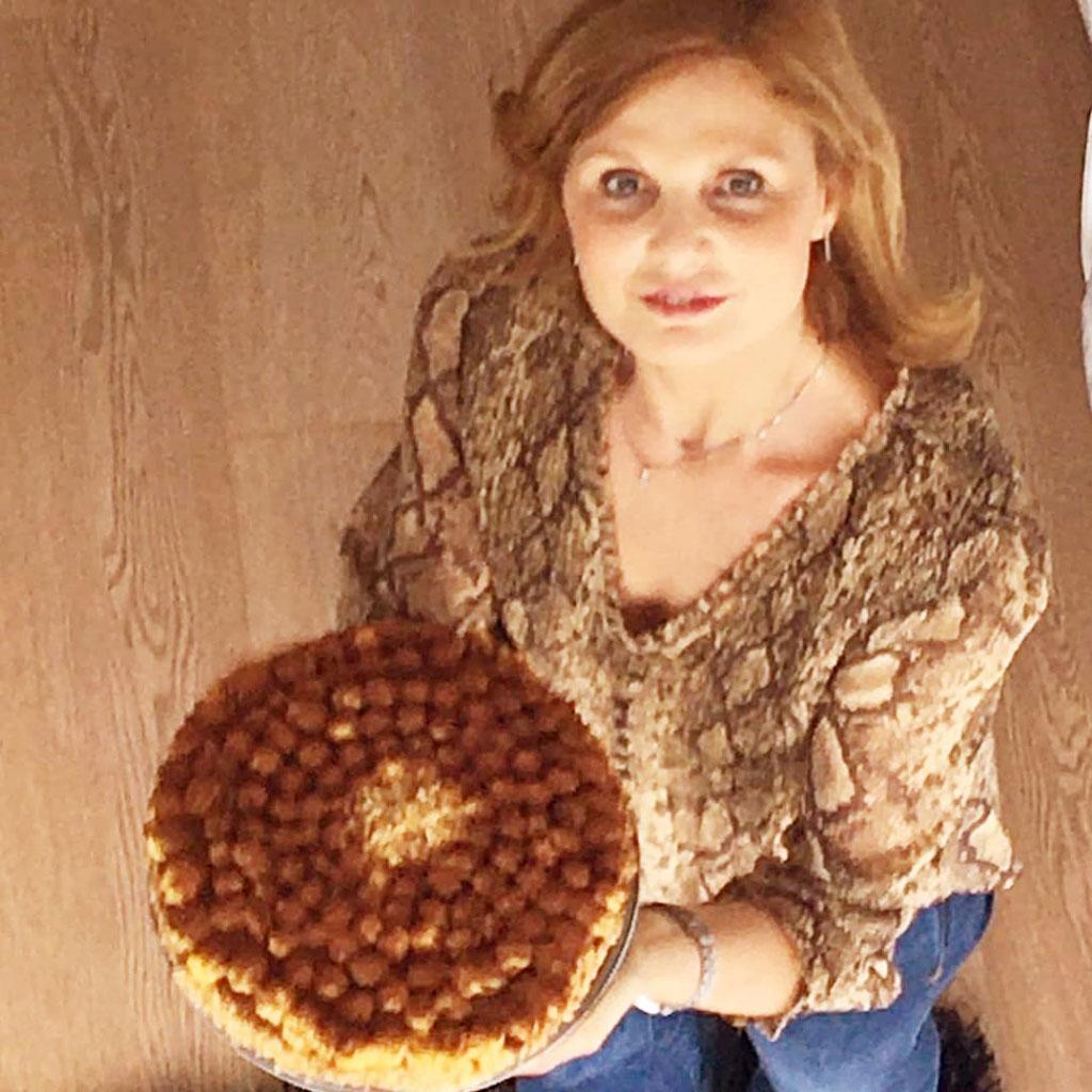 Tiramisù  con pavesini e uova pastorizzate della Monica