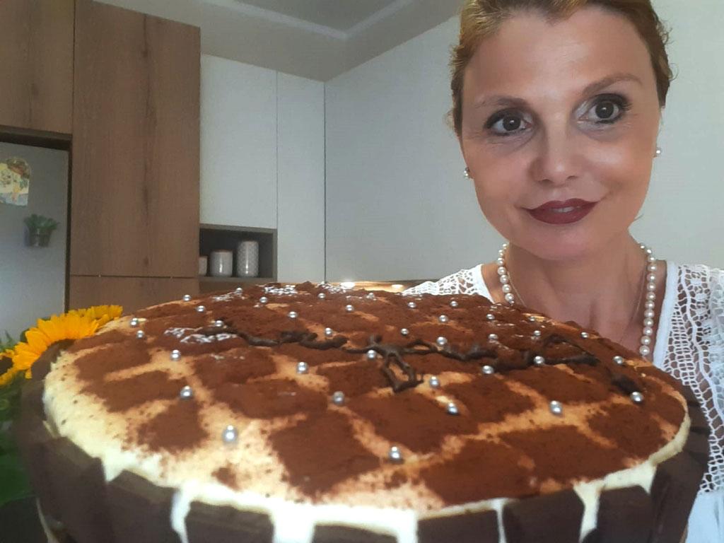 Cheesecake tiramisù della Monica