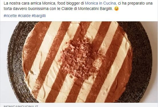 CIALDE DI MONTECATINI BARGILLI E MONICA IN CUCINA