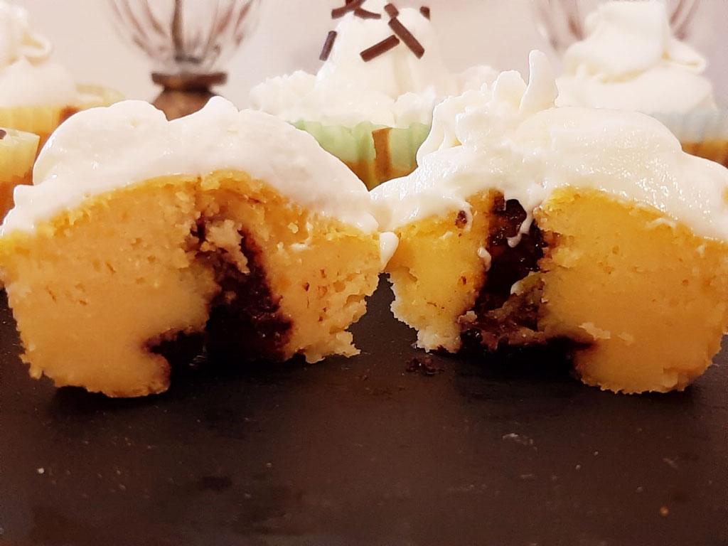 Cupcake alla  zucca della Monica