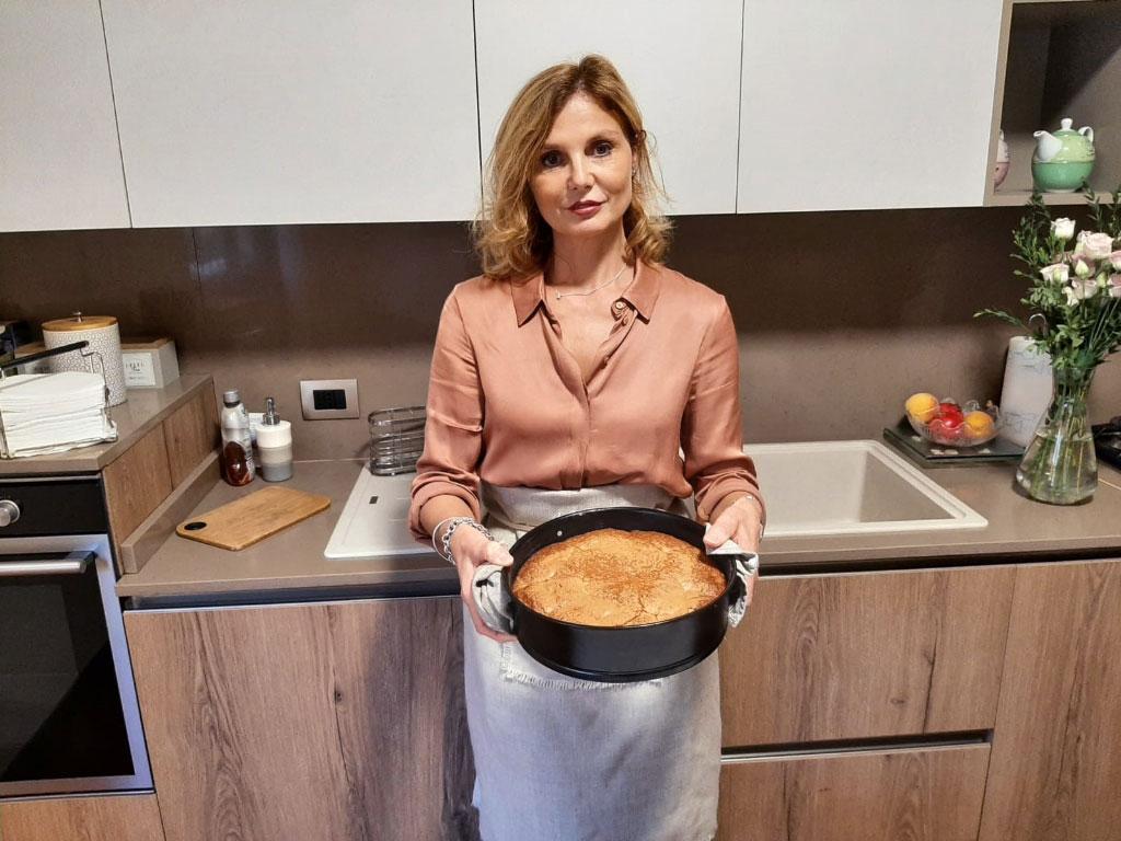 Torta soffice con pere (senza burro) della Monica