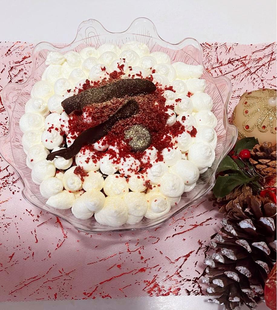 Coppette golose natalizie (monoporzione) della Monica