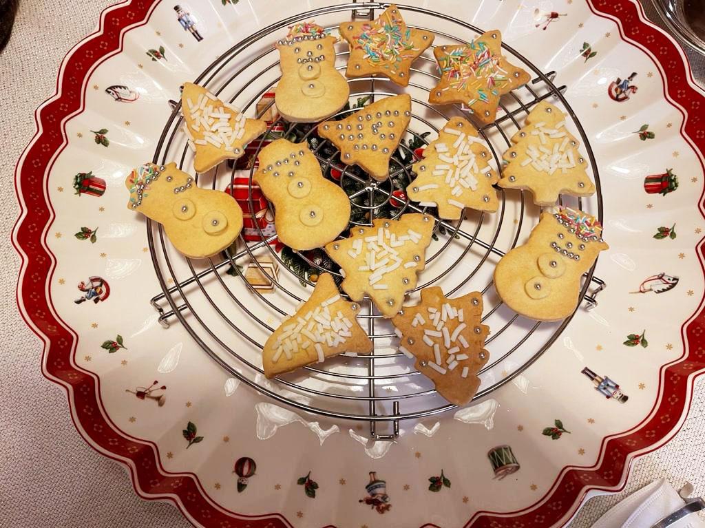 Cream tart di Natale della Monica