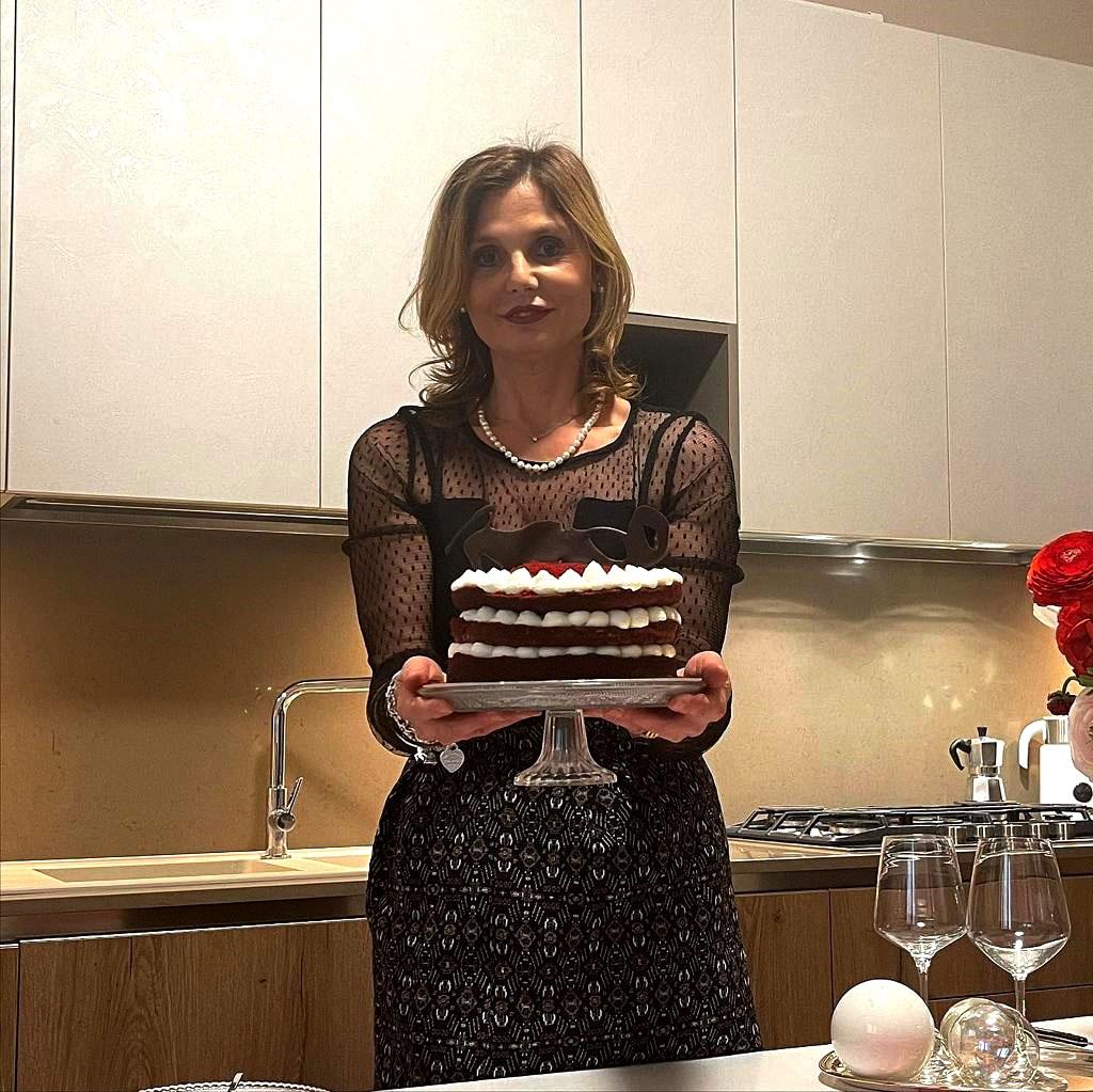 Torta natalizia red velvet cake