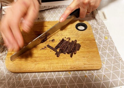 Cioccolata a pezzetti