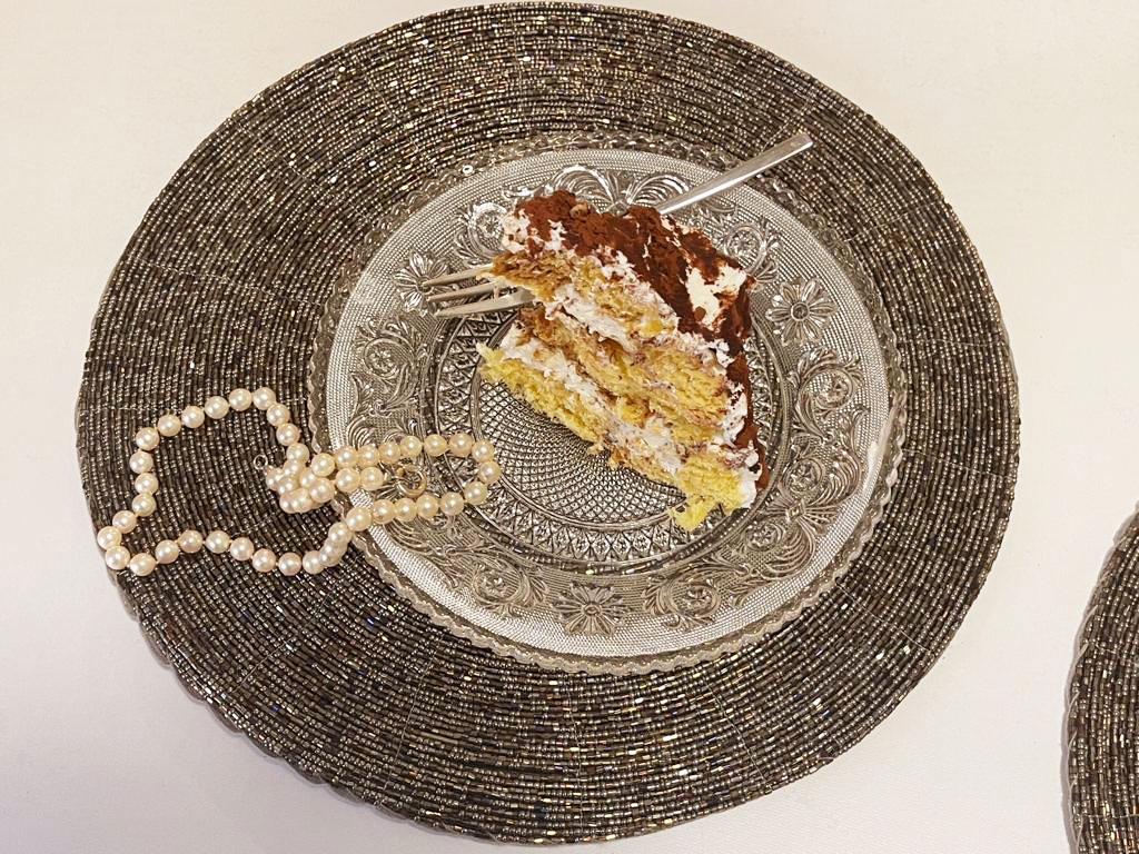Zuccotto tiramisù al pandoro (senza uova) facile e veloce della Monica