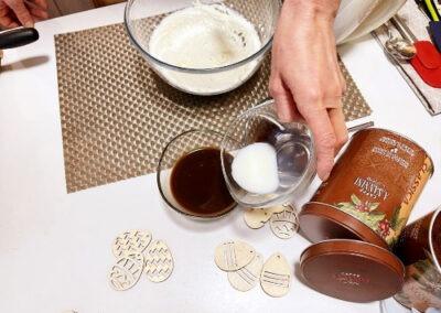 Aggiungete il cucchiaino di latte al caffè