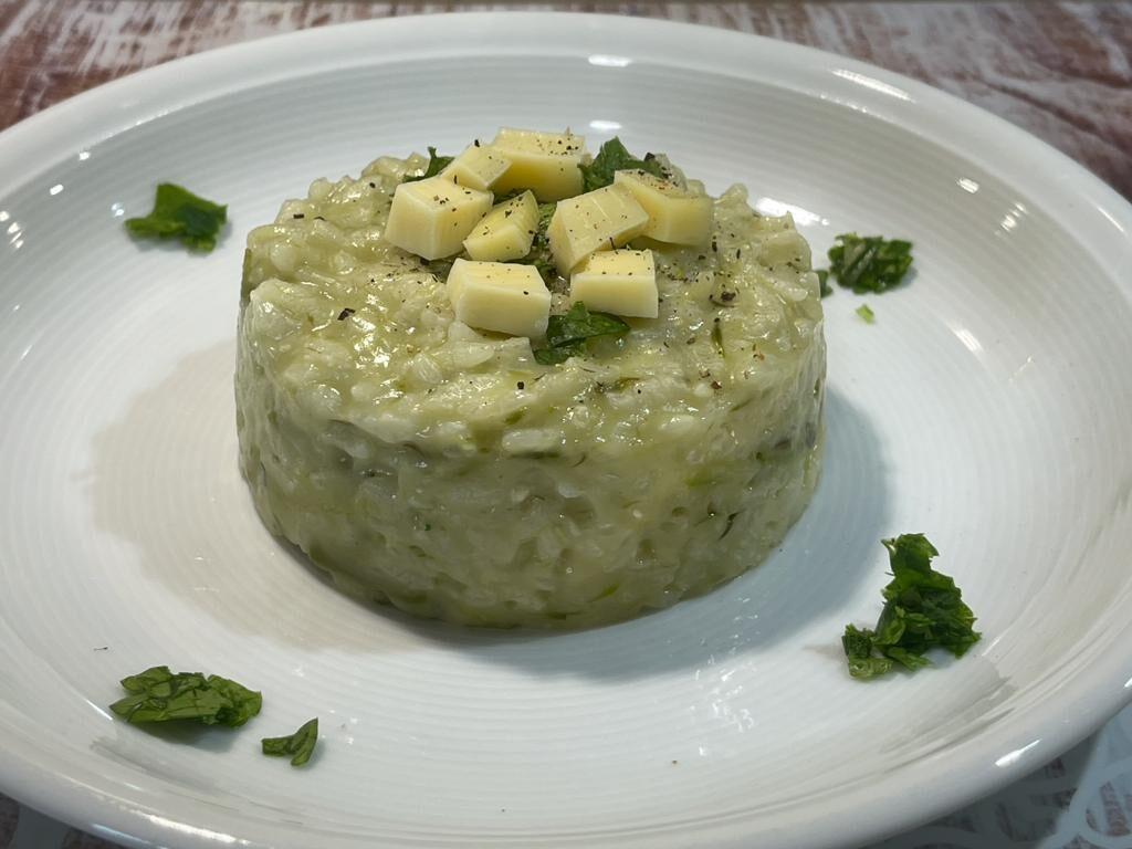 Risotto con asparagi selvatici della Monica