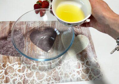 Versate il succo del limone