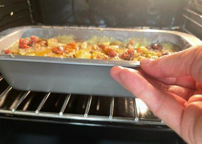 Infornate il plumcake a 180 gradi forno preriscaldato modalità statico per circa 60 minuti